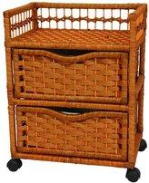 Oriental Furniture 2-Drawer Storage Chest