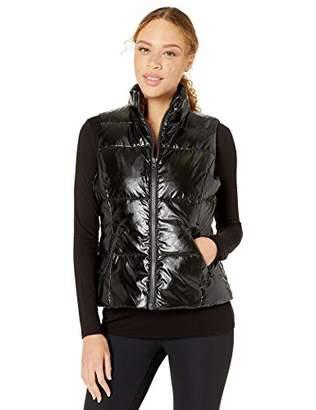 Core 10 High Shine Insulated Puffer Vest Jacket,Medium (8-10)