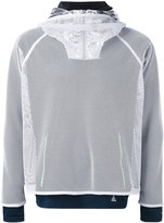 adidas mesh layered sweatshirt - men - Polyamide/Polyester - S