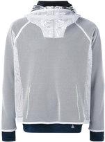 adidas mesh layered sweatshirt