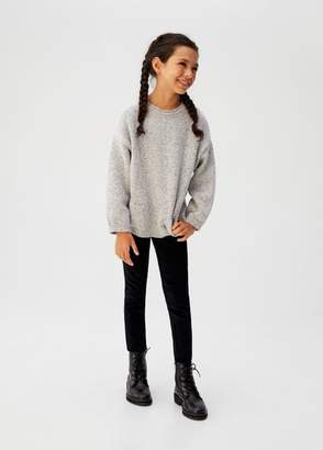 MANGO Slim-fit corduroy pants black - 5 - Kids