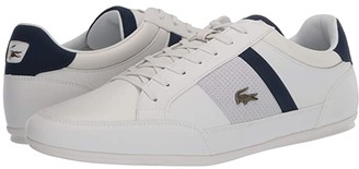 Lacoste Chaymon 120 4 (Navy/Dark Red) Men's Shoes