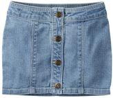 Carter's Girls 4-8 Button-Front Jean Skirt
