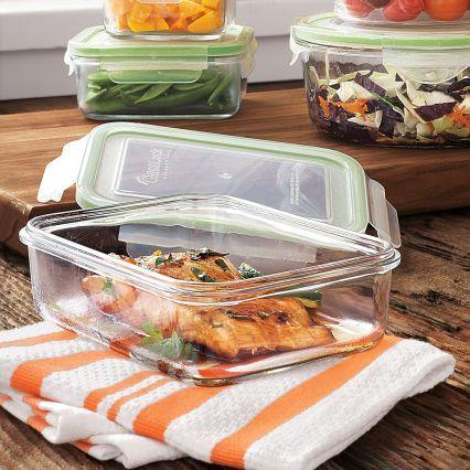 Sur La Table Kinetic Go Green GlassLock Food Storage, Rectangle
