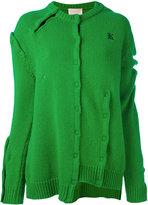 Christopher Kane asymmetric knitted pullover