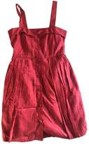 Marc by Marc Jacobs Red Cotton Dresses
