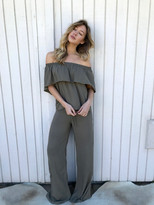 Tysa Tulum Top In Olive
