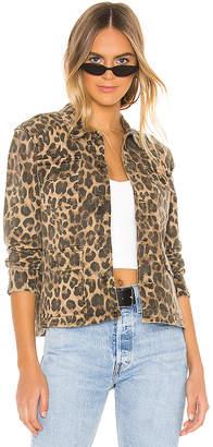 Pam & Gela Leopard Army Shacket
