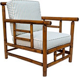 One Kings Lane Vintage Arts & Crafts-Style Bamboo Club Chair