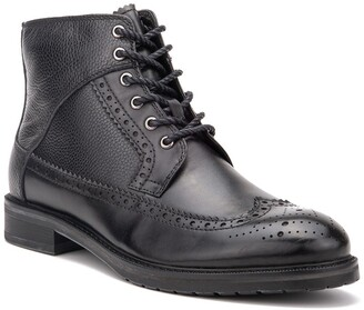 Vintage Foundry Digiorno Wingtip Leather Lace-Up Boot