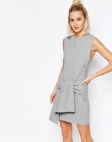 Cheap Monday Tank Sweat Dress With Tie Detail Waist
