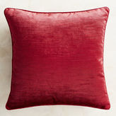 Pier 1 Imports Luxe Velvet Striped Red Pillow