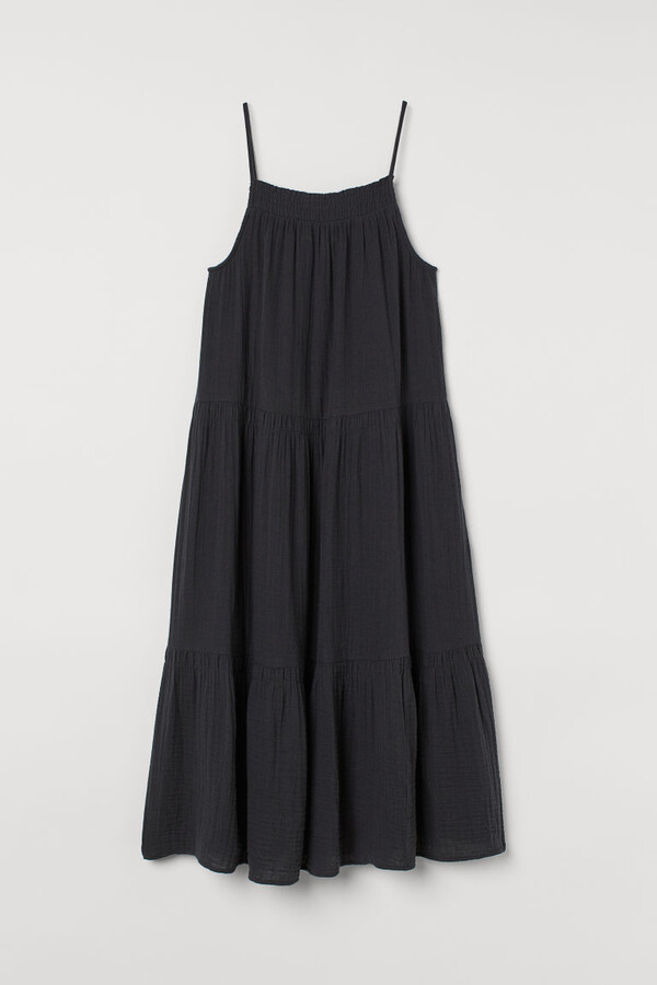 Thumbnail for your product : H&M Crinkled cotton dress
