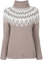 Woolrich roll neck knitted jumper