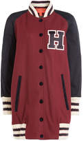 Tommy Hilfiger Long Wool Varsity Jacket