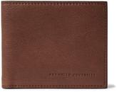 Brunello Cucinelli Full-Grain Leather Billfold Wallet