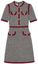 Gucci Tweed dress with Web