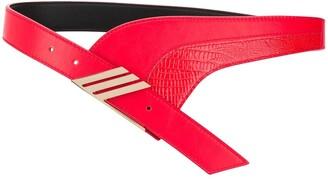 ATTICO Crocodile-Effect Belt