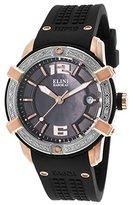 Elini Barokas Women's ELINI-20005D-RG-01-SB Spirit Analog Display Swiss Quartz Black Watch
