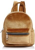 Street Level Mini Velvet Backpack