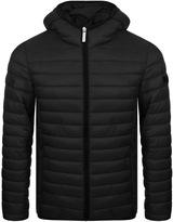 Versace Padded Jacket Black