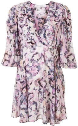 IRO Gaiety abstract-print mini dress