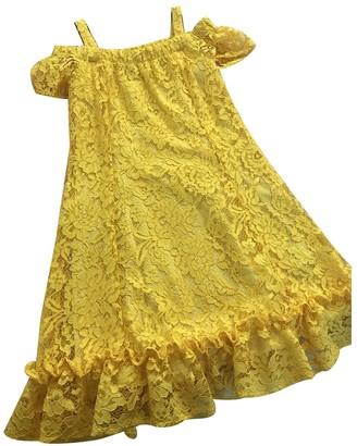 Liu Jo Liu.jo Yellow Lace Dress for Women
