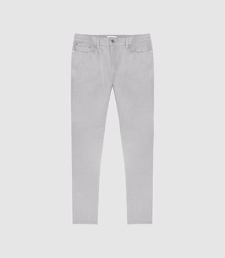 Reiss Spruce - Slim Fit Jeans in Light Grey