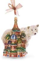 Jay Strongwater Palace Polar Bear Ornament