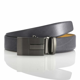 LINDENMANN men's leather belt/men's belt autolock leather