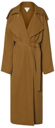Bottega Veneta Triangular Buckle Trench Coat