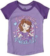 Disney Sofia Graphic Tee (Toddler) - Lilac/Purple-3T