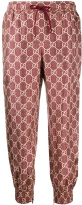 Gucci GG Supreme canvas track pants