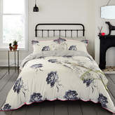 Joules Monochrome Regency Floral Duvet Cover - Double