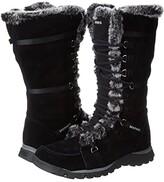Skechers Grand Jams - Unlimited (Black Suede) Women's Boots