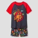 Scooby-Doo Boys' 2 Piece Pajama Set - Grey