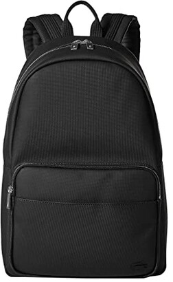 Lacoste Classic Backpack (Black) Backpack Bags