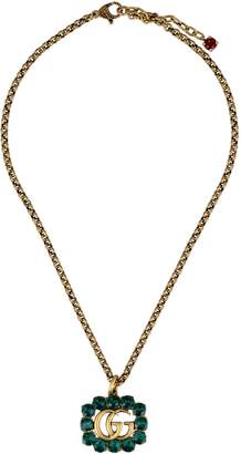Gucci GG Embellished Necklace