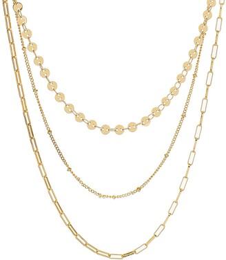 Panacea Triple Layer Chain Necklace
