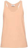 Acne Studios Iso ribbed cotton-blend tank top