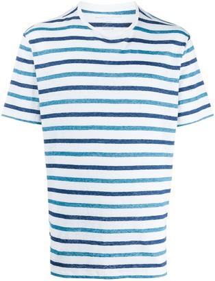 Majestic Filatures striped print T-shirt
