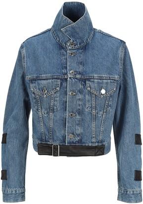 Helmut Lang Strap Detailed Denim Jacket