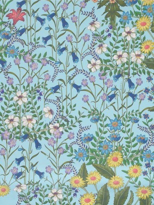 Gucci Flora Printed Wallpaper