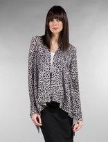 Tamara Open Leopard Wrap