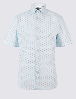 Blue Harbour Pure Cotton Textured Shirt