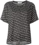 adidas by Stella McCartney The Cool Logo T-shirt - women - Polyester/Lyocell - M