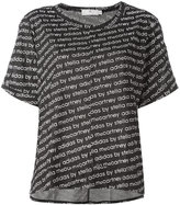adidas by Stella McCartney The Cool Logo T-shirt - women - Polyester/Lyocell - S