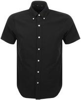 Ralph Lauren Short Sleeved Custom Fit Shirt Black