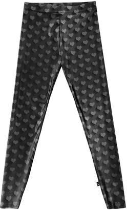 Terez Girl's Hearts Print Leggings, Size S-XL