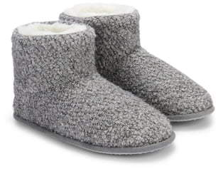 The White Company Boucle Boot Slipper
